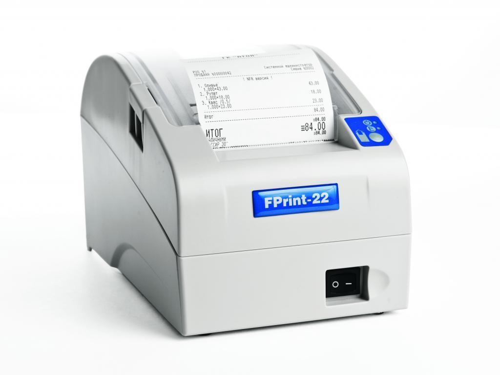 АТОЛ FPrint-22ПТК (онлайн касса под ФЗ-54 с ФН в комплекте)